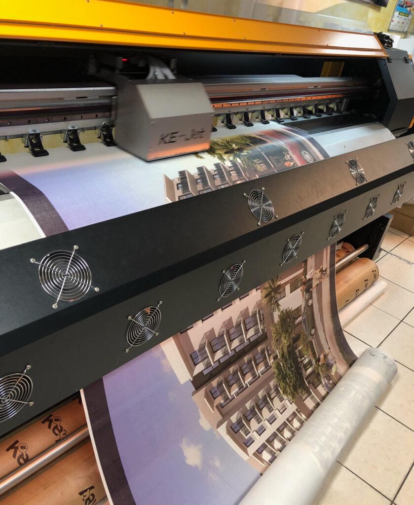 Custom Banner Printer